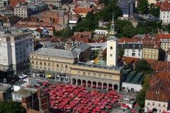 Zagreb, Chorwacja zdjęcie royalty free