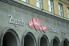 Zagreb, Chorwacja, Dolac rynek, szczegóły, 2 fotografia royalty free
