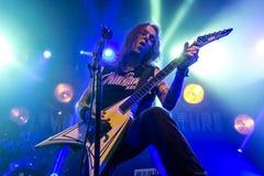 Zagreb, CHORWACJA - hala targowa 23, 2017: Dzieci Bodom, koncert w T Obraz Royalty Free