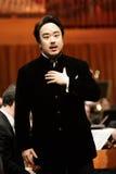 Elina Garanca trzymał koncert w filharmonii Lisinski. Fotografia Stock