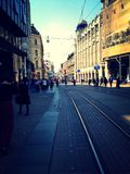 Zagreb city Stock Photography