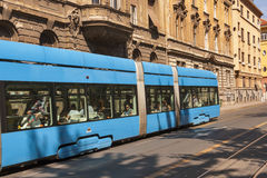 Zagreb city street Stock Photos