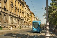 Zagreb city street Royalty Free Stock Photography