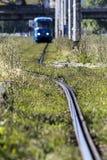Zagreb city tramway Royalty Free Stock Photo