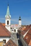 Zagreb cityscape Stock Image