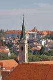 Zagreb cityscape Stock Photography