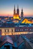 Zagreb. Royalty Free Stock Photo