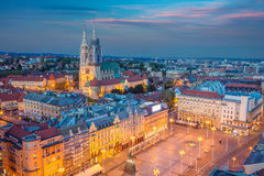 Zagreb. Stock Images