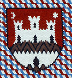 Zagreb, Coat of Arms Stock Photos