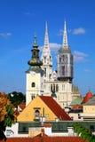 Zagreb, Croácia imagem de stock