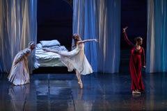 ZAGREB, CROÁCIA - 15 de fevereiro 2018 Romeo e Juliet Ballet perto foto de stock