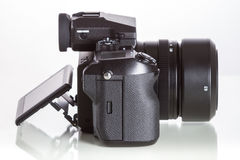28 05 2017, Zagreb, CROÁCIA: Fujifilm GFX 50S, 51 megapixels, Imagem de Stock Royalty Free