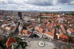 Zagreb, Croacia imagenes de archivo