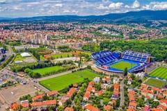 Zagreb, Croacia fotos de archivo