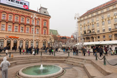 zagreb Croacia Fotografía de archivo libre de regalías