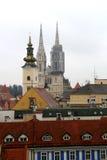 Zagreb, Croacia imagen de archivo libre de regalías