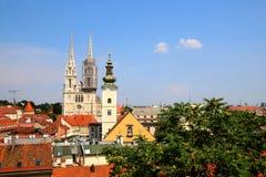 Zagreb, Croacia Imagen de archivo
