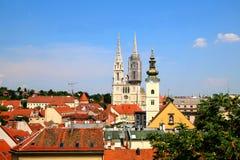 Zagreb, Croacia Fotos de archivo libres de regalías