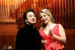 Elina Garanca llevó a cabo un concierto en la sala de conciertos Lisinski. Imagenes de archivo