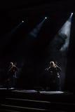 Zagreb, CROATIA – April 3, 2017: Finnish band Apocalyptica pla Royalty Free Stock Photo