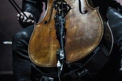 Zagreb, CROATIA – April 3, 2017: Finnish band Apocalyptica pla Stock Photography
