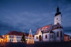 Zagreb. Croatia Stock Image