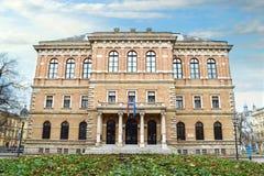 Zagreb, Croatia, Croatian Academy of Sciences and Arts Royalty Free Stock Photos