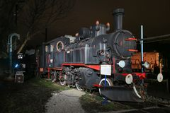 Advent in Zagreb 2017 Trains museum royalty free stock photography
