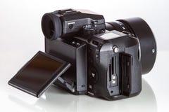 28. 05. 2017, Zagreb, CROATIA: Fujifilm GFX 50S, 51 megapixels,. Fujifilm GFX 50S, 51 megapixels, medium format sensor digital camera with 3.2″ tilt screen on Stock Image