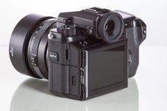 28. 05. 2017, Zagreb, CROATIA: Fujifilm GFX 50S, 51 megapixels,. Fujifilm GFX 50S, 51 megapixels, medium format sensor digital camera with 3.2″ tilt screen on Stock Photo