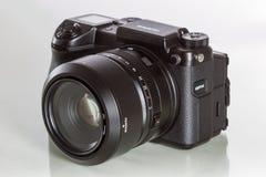28. 05. 2017, Zagreb, CROATIA: Fujifilm GFX 50S, 51 megapixels,. Fujifilm GFX 50S, 51 megapixels, medium format sensor digital camera with 63 mm G-mount lens on Stock Photography