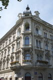 Architectural Hotel in Zagreb, Croatia Hotel Royalty Free Stock Photos
