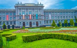 Museum Mimara in Zagreb stock photo