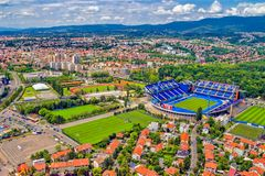 Zagreb, Croatia Stock Photos