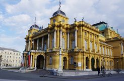Zagreb Royalty Free Stock Images