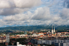 Zagreb, Croatie Photos libres de droits