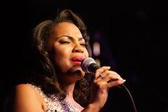 Concert par Mary Millben Photos stock