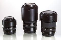 28 05 2017, Zagreb, CROATIE : lentilles de G-bâti pour Fujifilm GFX 5 Photographie stock
