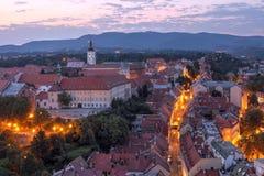 Zagreb, Croácia Imagens de Stock Royalty Free