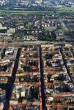 Zagreb del aire fotografía de archivo