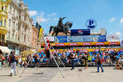 Zagreb Festival Cest is the best Stock Photos