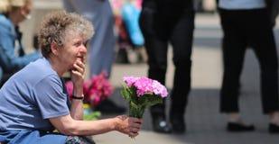 Zagreb/florista Foto de archivo libre de regalías