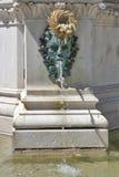 Zagreb fountain Royalty Free Stock Image
