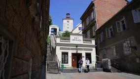 Zagreb funicular vídeos de arquivo