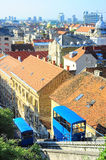 Zagreb Funicular Royalty Free Stock Photography