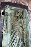 Zagreb główny cmentarniany Mirogoj, szczegóły Fotografia Royalty Free