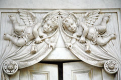 Zagreb główny cmentarniany Mirogoj, szczegóły, 17 Zdjęcia Stock
