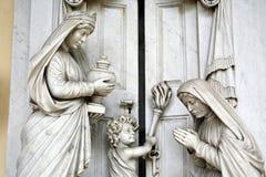 Zagreb główny cmentarniany Mirogoj, szczegóły, 16 Zdjęcia Stock