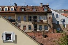 Zagreb gamla slottar Royaltyfri Bild