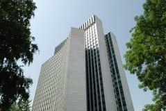 Zagreb-Geschäftskontrollturm Stockbilder